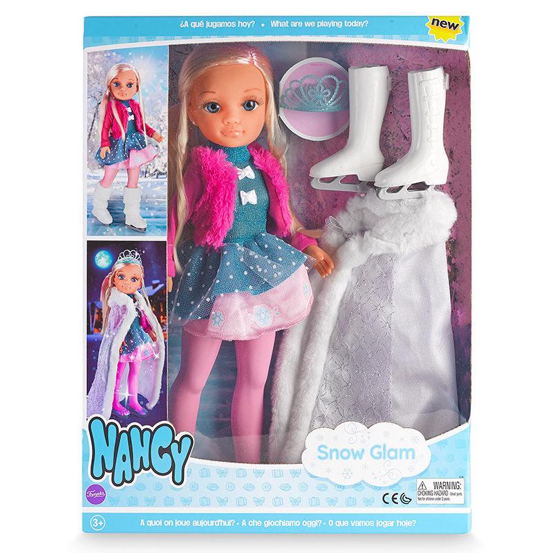 Nancy na neve com glamour