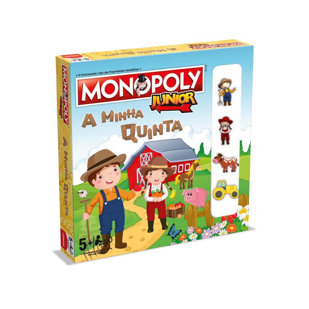 Monopoly Júnior A Quinta (Versão em Português)