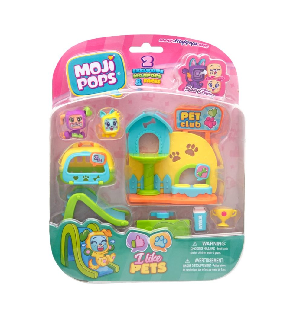 BLISTER MOJI POPS I LIKE PETS