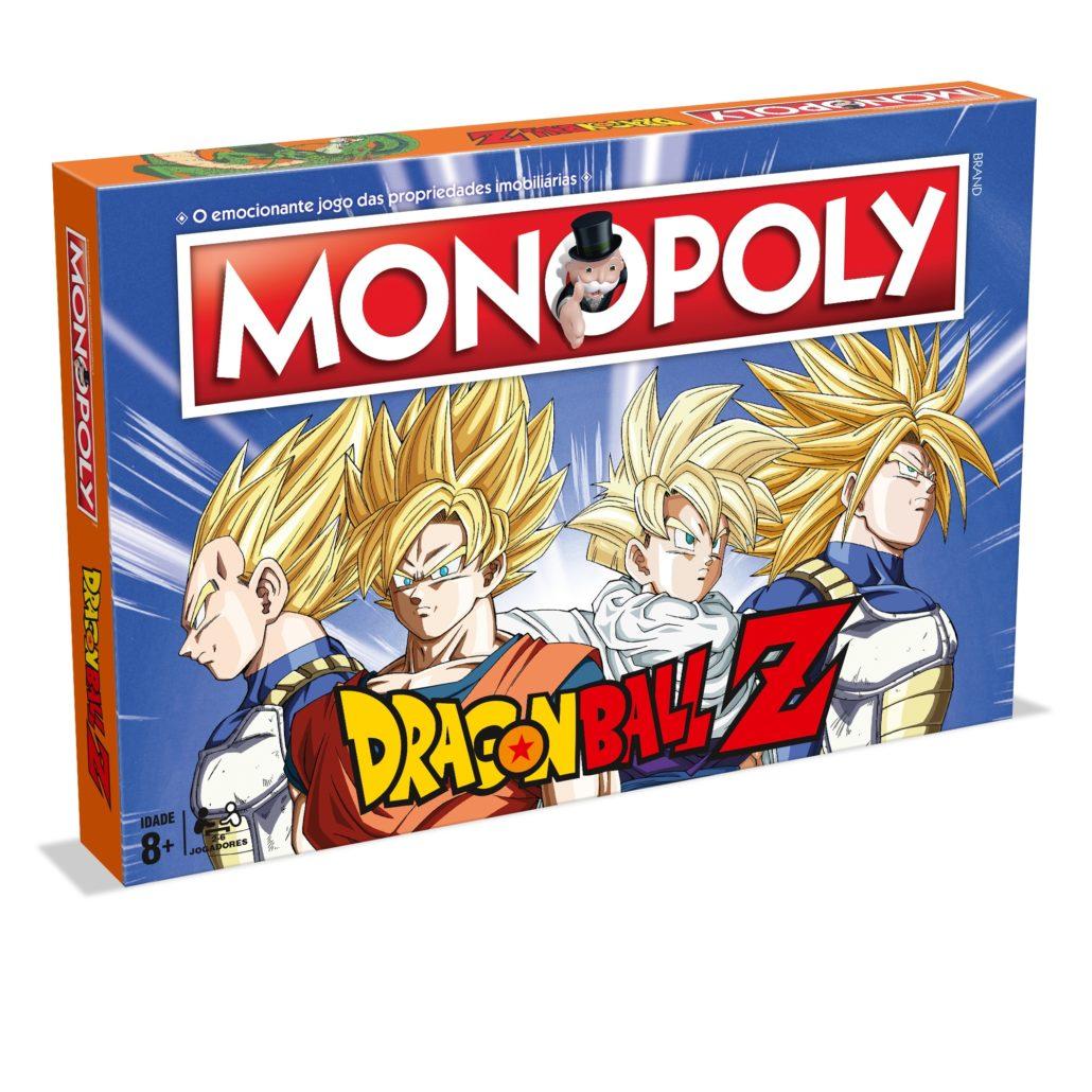 Monopoly Dragon Ball Z (Versão em Português)
