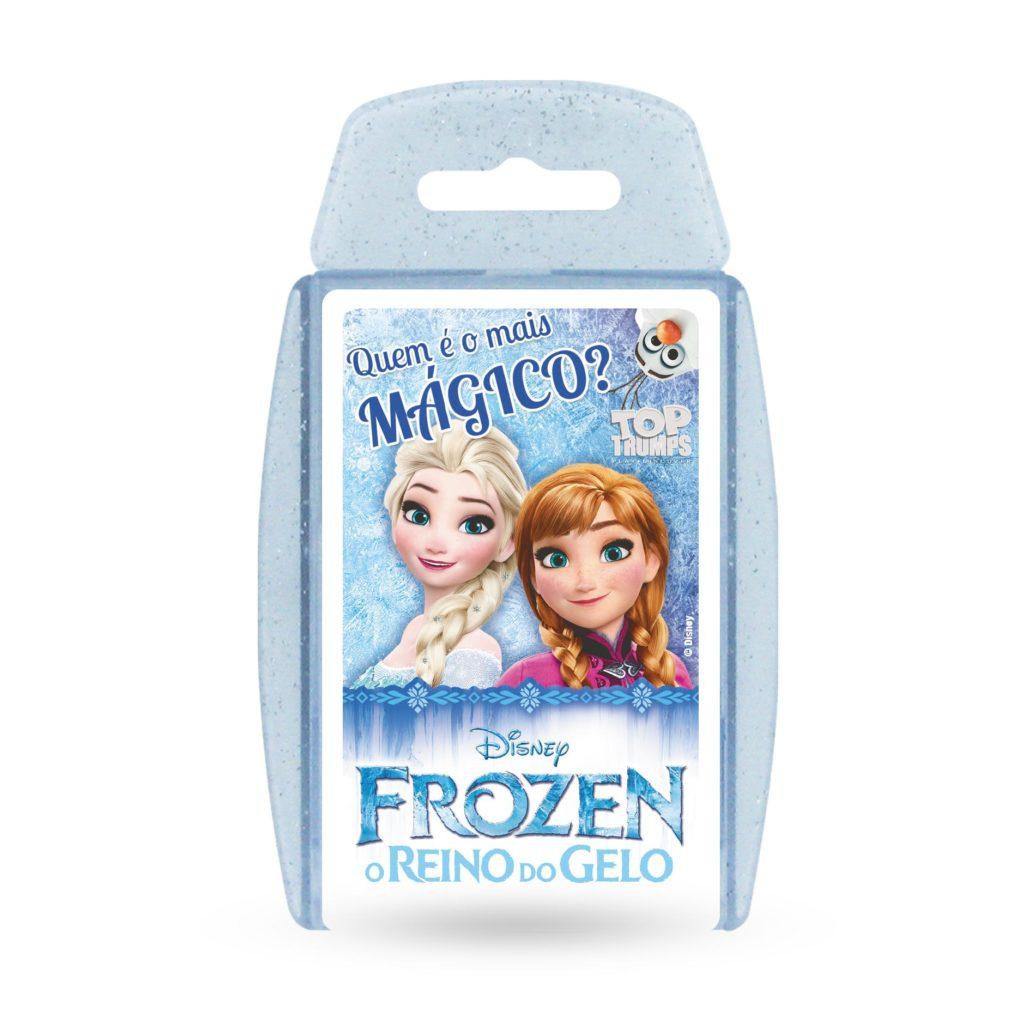 Jogo de cartas Top Trumps Frozen