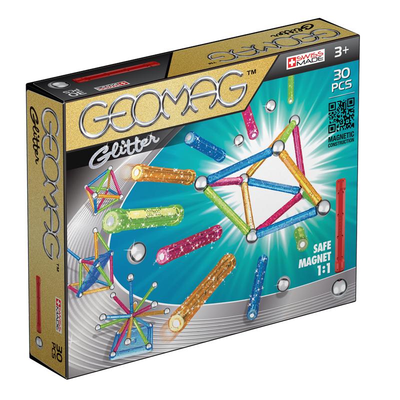 Geomag Glitter – 30 Pcs