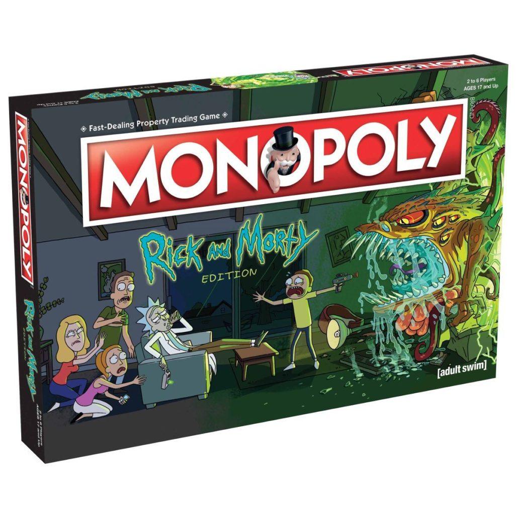 Monopoly Rick and Morty (Versão em Inglês)