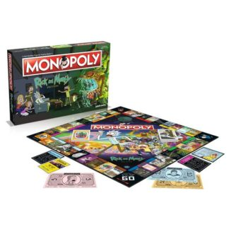 MONOPOLY RICK AND MORTY EN