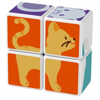 Magicube Geomag - ANIMAL FRIENDS - Model cat
