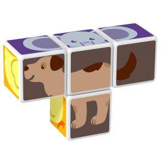 Magicube Geomag - ANIMAL FRIENDS - Model dog