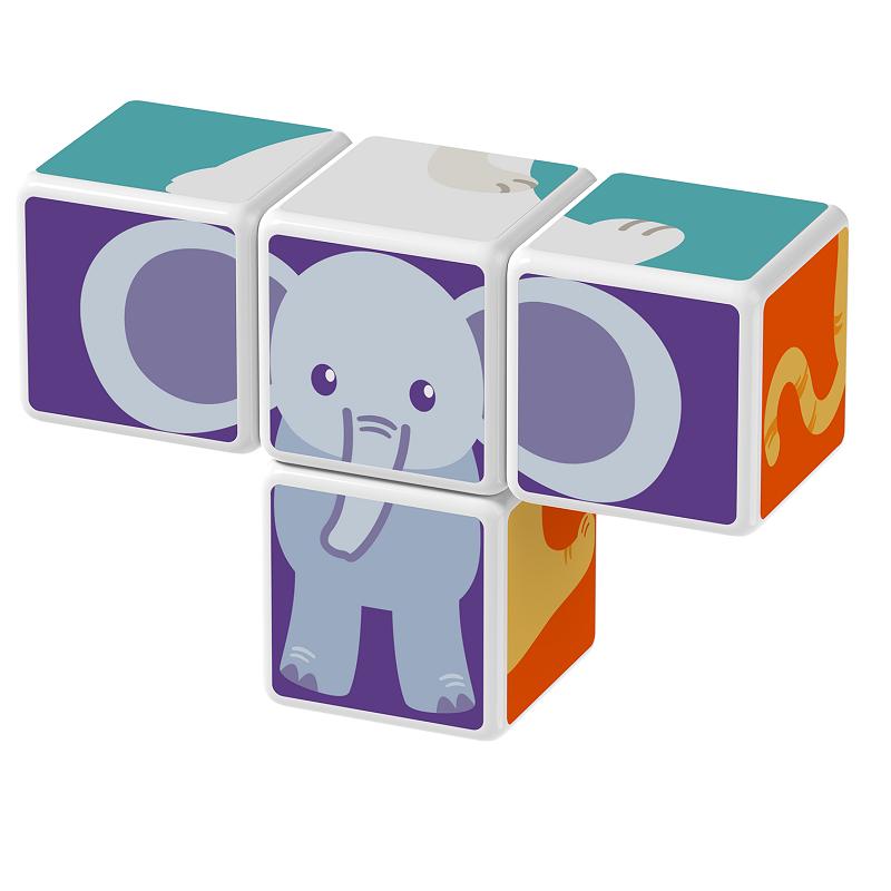 Magicube Geomag - ANIMAL FRIENDS - Model elephant