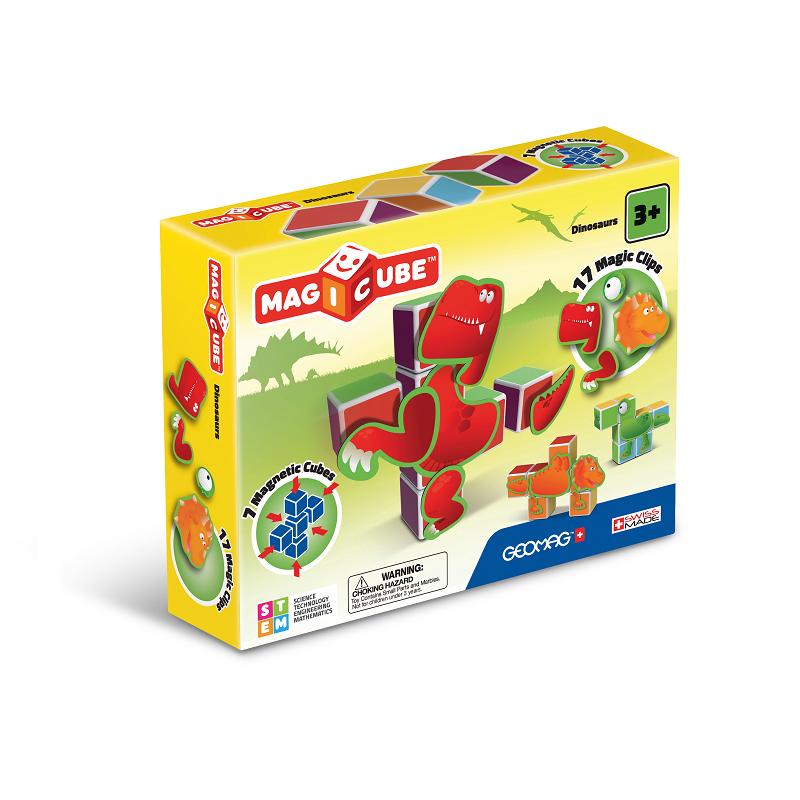 Magicube Geomag - DINOSAURS - Packshot (a)