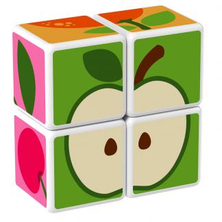 Magicube Geomag - FRUIT - Model apple 2