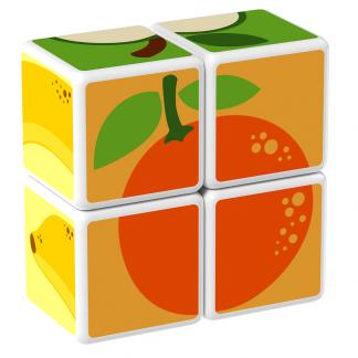 Magicube Geomag - FRUIT - Model orange