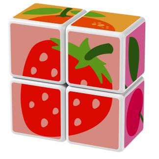 Magicube Geomag - FRUIT - Model strawberry
