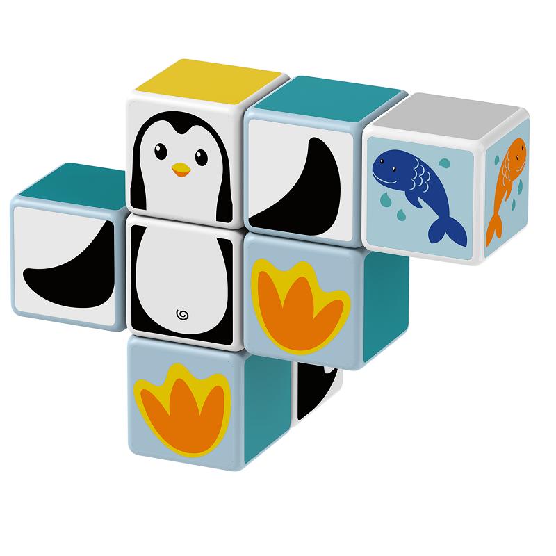 Magicube Geomag - POLAR ANIMALS - Model penguin