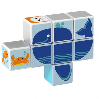 Magicube Geomag - POLAR ANIMALS - Model whale 1