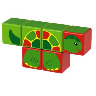Magicube Geomag - RIVER ANIMALS - Model turtle
