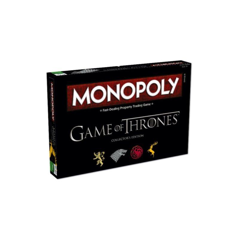 Jogo de Tabuleiro Monopoly Game of Thrones Versão em Inglês.