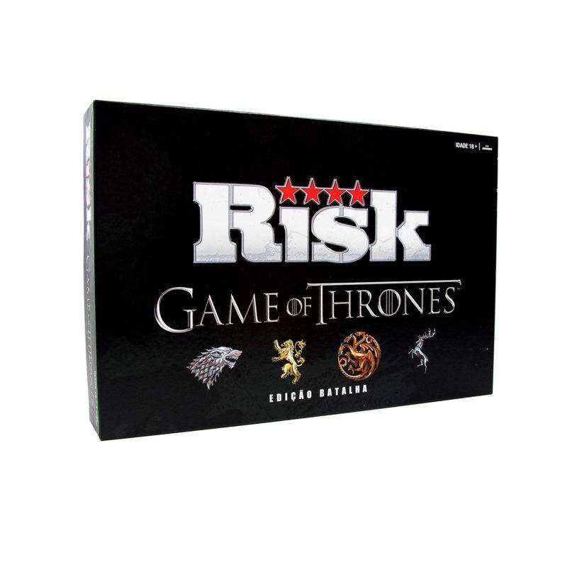 Jogo de Tabuleiro Risk Game of Thrones Edição Batalha Versão em Português.