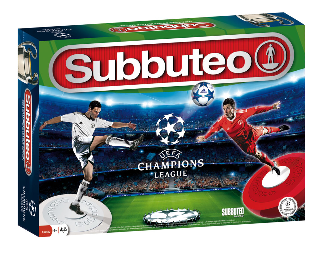 Subbuteo UEFA Champions League – Playset